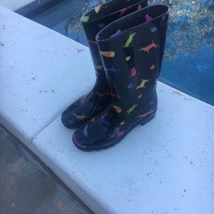 Rain boots Size 6 Women for Sale in Fallbrook, CA