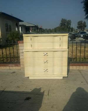 """Vintage Mid Century HighBoy Five Drawer Dresser By Kent Coffey""""The Embassy"""" for Sale in Whittier, CA"""