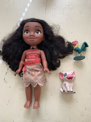 Singing/ talking Moana Doll for Sale in San Leandro, CA
