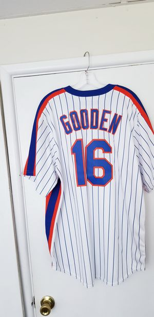 New Authentic Dwight Gooden Cooperstown Majestic Cool Base XL Jersey with $110 Tags! for Sale in Braintree, MA