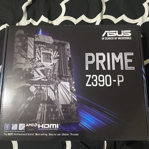 Asus Prime Z390-P Motherboard (BRAND NEW) for Sale in Portland, OR