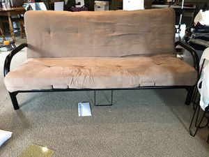 Futon Frame and Mattress for Sale in Richfield, OH