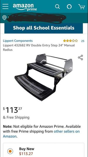 """Lippert 24"""" camper steps brand new in the box for Sale in East Haven, CT"""