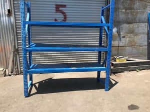 Metal Storage Shelves Heavy Duty 4 Tiers for Sale in Hacienda Heights, CA