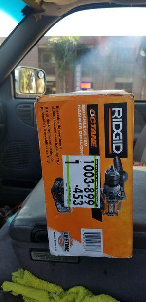 DEWALT, RYOBI, RIGID, DRILLS 28OV,18V, NEW IN THE BOX, UNOPENED ....RYOBI DRIUL N SAW COMBO KIT....$ 70, RIGID HAMMER DRILL $85, DEWALT A! for Sale in San Diego, CA