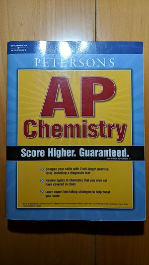 AP Chemistry Prep Book (Peterson's) for Sale in City of Industry, CA