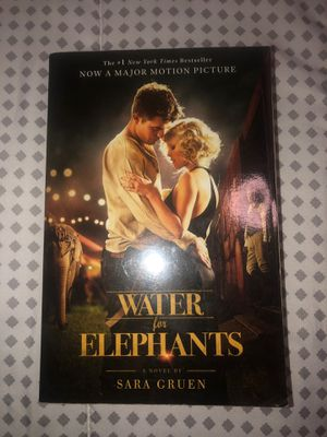 Water for Elephants (Book) for Sale in Davenport, FL
