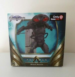 DC Gallery Diamond Select Black Manta Diorama Aquaman for Sale in Houston, TX
