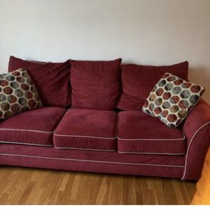 Very Comfortable, Beautiful Red Couch for Sale in Alexandria, VA