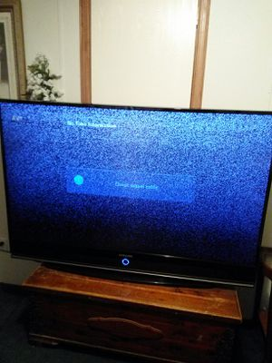 60 in Samsung TV has a bunch of white dots on the screen because the light chip needs to be replaced for Sale in San Antonio, TX
