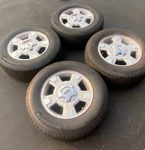 "(4) 17"" Ford Wheels 265/70R17 Michelin - $325 for Sale in Santa Ana, CA"