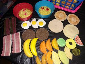 Play pretend food breakfast blend for Sale in San Antonio, TX