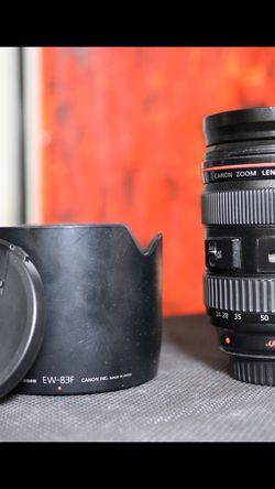 Canon 24-70mm f/2.8 L (Read Description) for Sale in Wildomar,  CA