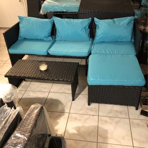 3 Pc Patio Set W/table . for Sale in Pomona, CA
