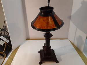 It a metal LAMP Dark. BROWN for Sale in Arnold, MO