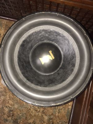 """Team 15"""" Sub for Sale in Cleveland, OH"""