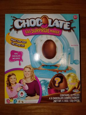 Chocolate egg surprise maker for Sale in Boston, MA