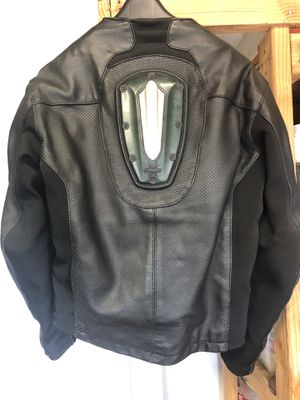 Icon Leather Motorcycle Jacket for Sale in Los Angeles, CA