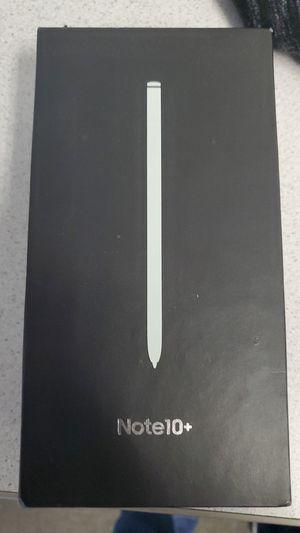 Galaxy note 10 plus 256 gb white for Sale in Bay City, MI