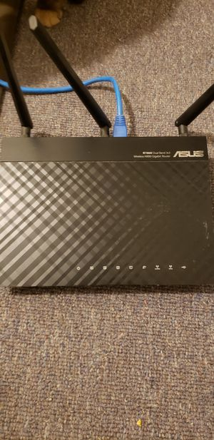 asus rt n66u gigabit router for Sale in Valley Home, CA