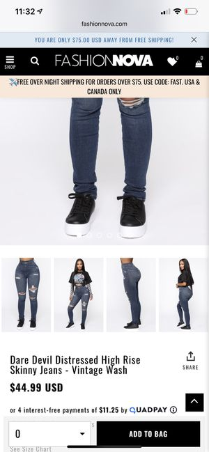 Fashionnova Jeans for Sale in Victorville, CA