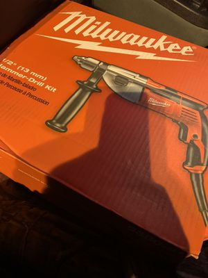 "Milwaukee 1/2"" hammer drill for Sale in Richmond, CA"