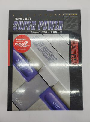 """Playing With Super Power"" Nintendo Super NES Classics Prima Book - NEW! for Sale in Trenton, NJ"