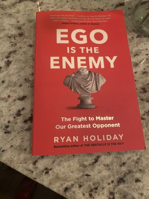 Ego is the enemy book Ryan holiday for Sale in San Diego, CA