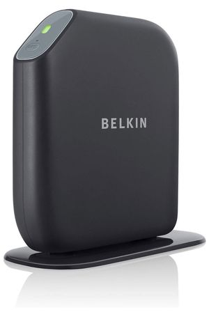 Belkin Share N300 300 Mbps 4-Port 10/100 Wireless N Router (F7D7302) for Sale in Fresno, CA