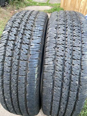 2 good use tires Firestone LT 245/75/16 for Sale in Herndon, VA