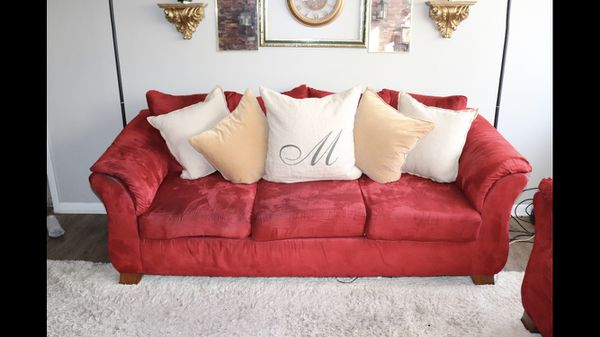 Sofa Set Pillows Area Rug For Sale In Greensboro Nc