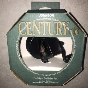 Johnson Century 40th Anniversary 100B SpinCast Fishing Reel for Sale in Knoxville, TN