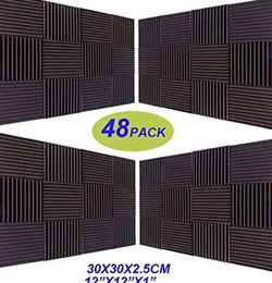 Studio Soundproofing Foam Wall tiles(48 pack) for Sale in Brooklyn,  NY