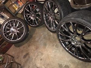 20 inch Chrome Diamo Rims for Sale in Reading, PA