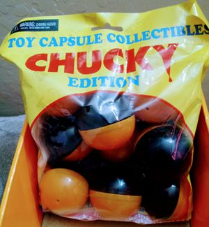 NECA CHUCKY Edition Themed Toy Capsule Mystery Hidden Collectibles for Sale in Avondale, AZ