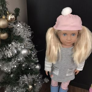 2 Dolls And 2 Christmas Trees for Sale in Los Angeles, CA