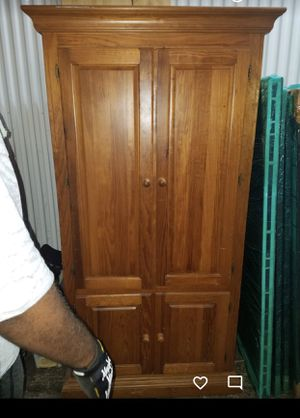 Solid wood Armoire for Sale in Lithia, FL