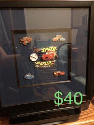 "Disney Artist Series: Lightning McQueen ""I am Speed"" Pin Set for Sale in Oakbrook Terrace, IL"