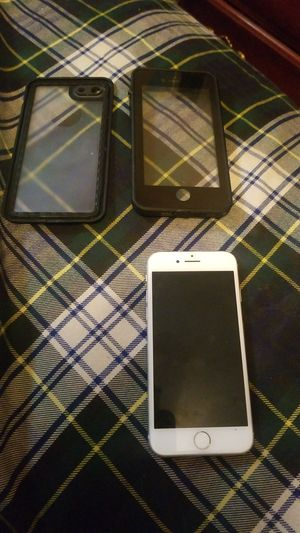 iPhone 8+ with lifeproof case for Sale in Glendale, AZ