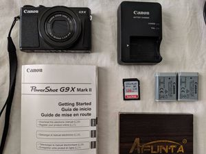 Canon Power Shot G9X Mark ii for Sale in Broomfield, CO