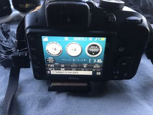 Nikon D3300 camera kit for Sale in Seattle, WA