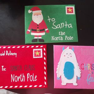 Large Christmas Felt Envelopes for Sale in Yorkville, IL