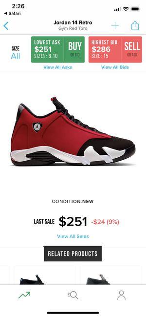 Jordan 14 Retro Size 8 for Sale in Chino Hills, CA