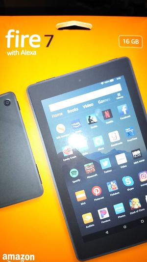 Amazon Kindle Fire 7 with Alexa for Sale in Durham, NC