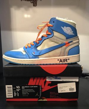 Off white Jordan 1 for Sale in Winston-Salem, NC
