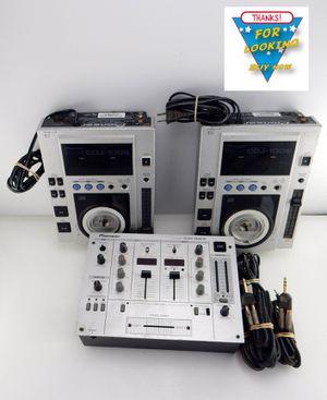 Pioneer DJM-300-S Dj Mixer + 2 Pioneer CDJ–100S DJ Equipment CD Player for Sale in Bakersfield, CA