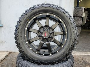 """20"""" Txw wheels rims and Tires 33x12.50 R20 33s 33"""" for Sale in Orange, CA"""