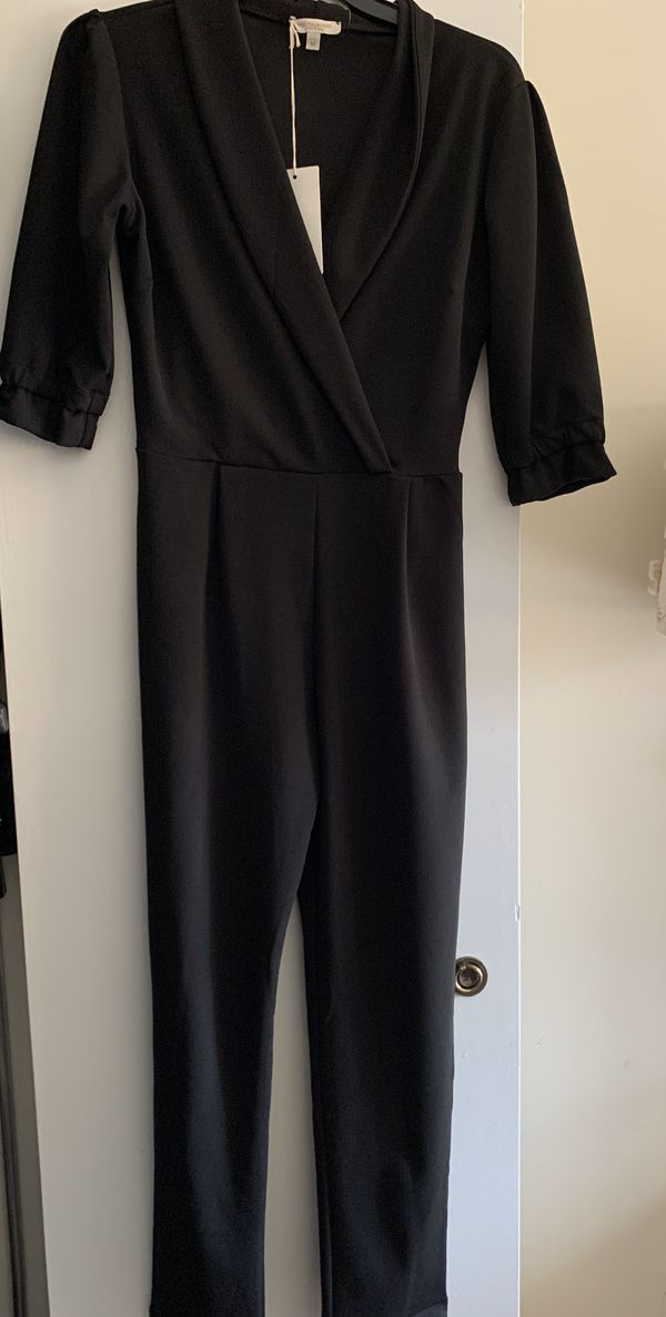 Marisa and Marie woman black jumpsuit