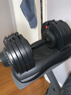 Adjustable dumbbells 71.5lbs each for Sale in Queens, NY