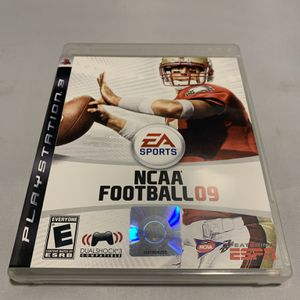 NCAA Football 09 for PlayStation 3 PS3 Complete CIB Video Game for Sale in Camp Hill, PA